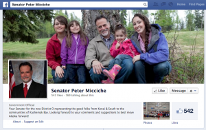 Sen. Peter Micchiche, who regularly uses Facebook for constituent outreach, was an advocate for expanding access to the popular social networking site.