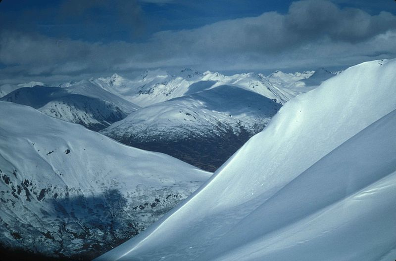 View_of_snow_covered_mountains_towards_stugeon_Alaska