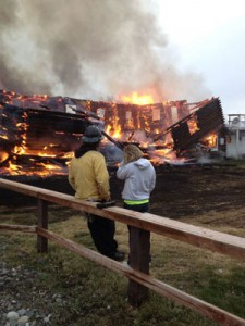 Historic Alaska Roadhouse Destroyed In Blaze