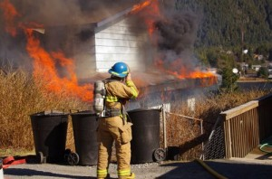 Neighbors Wake Woman From Nap As House Burns In Sitka