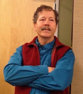 USGS Biologist Craig Ely. Photo by Lori Townsend, APRN - Anchorage.