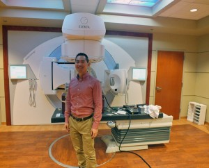 Dr. Eugene Huang is medical director at Southeast Radiation Oncology Center. Photo by Casey Kelly, KTOO - Juneau.