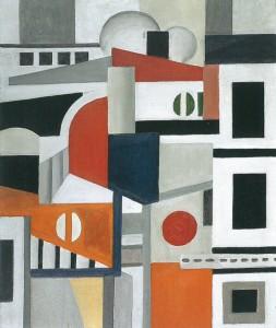 """Houses"" Leger (1922)."
