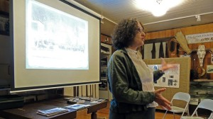 KPC history professor and author Jane Haigh shares the story of Soapy Smith at the Kasilof Historical Museum.