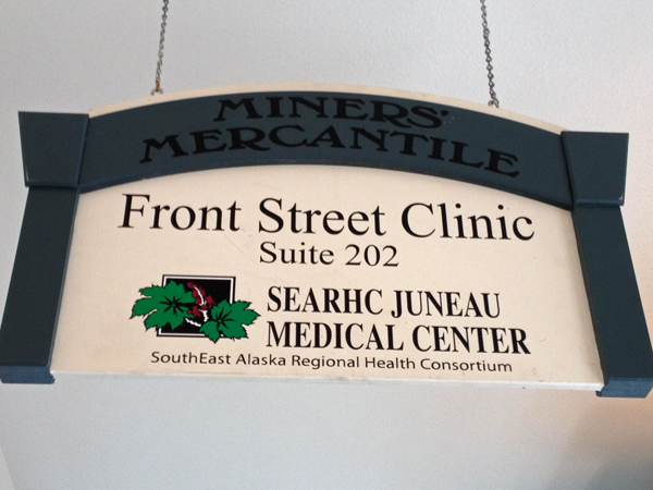 As of May 1, SEARHC will not longer be operating Front Street Clinic. Photo by Lisa Phu, KTOO - Juneau.