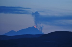 Activity Increases at Pavlof Volcano