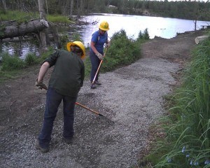 Young Alaskans Go To Work Outdoors