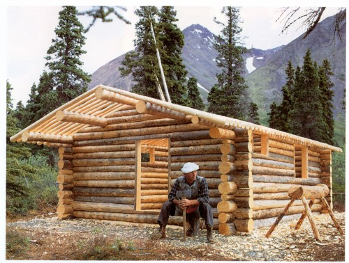 Alone in the wilderness part 1 2 alaska public media for Cost to build a cabin