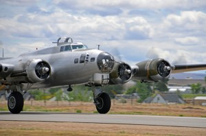 """Aluminium Overcast"" a World War II Boeing B-17G. The Flying Fortress. Photo courtesy of Rex Gray."