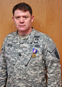 Sgt. 1st Class Kerns. Photo courtesy U.S. Army.
