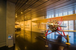Barnstorming the Arctic Flight Exhibit