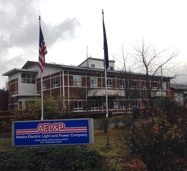 AEL&P headquarters in Lemon Creek. Photo by Casey Kelly, KTOO - Juneau.