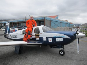 Aviator Visits Unalaska On Around-The-World Trip