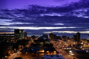 Downtown Anchorage. Photo courtesy of ML&P.