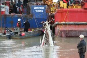 Salvagers Make Progress On Sunken Tender Lone Star
