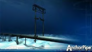 The 8 inch pipeline would be anchored above the sea floor in areas where it can't be buried. Image courtesy of the Alaska Department of Natural Resources.