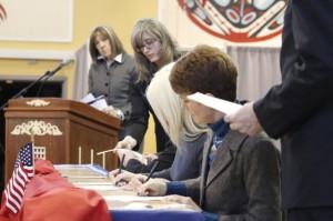 Alaska Casts Its Electoral College Votes