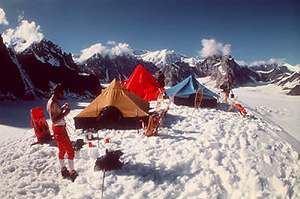 Winter Camping and Snowshoeing