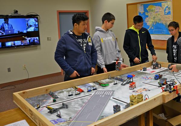 Photo by John Conwell, Unalaska school superintendent.