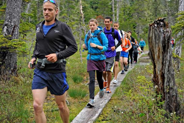 Lynn Canal Running Camp was a recent YAC supported program.