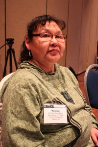 Winifred Kelly-Green. Photo by Lisa Phu, KTOO - Juneau.