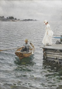 "Zorn, ""Sommarnöje"" (1886)."