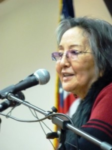 Rosita Worl is president of the Sealaska Heritage Institute, which offers scholarships to shareholder descendants. Photo courtesy KTOO - Juneau.