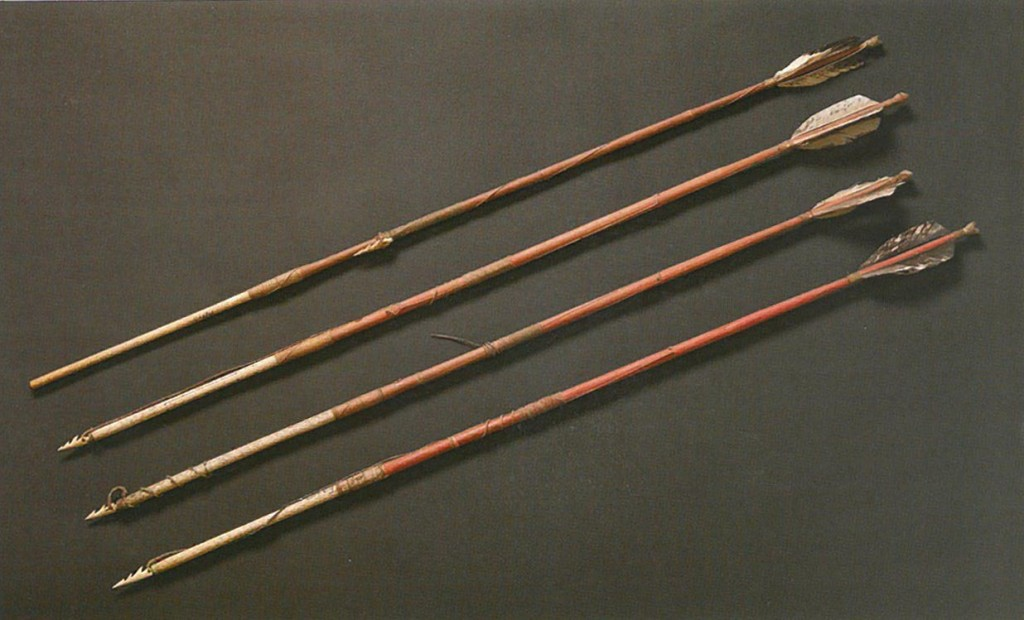 Arrows for Sea Otter. Fort Kenai (1883).
