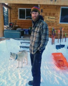 Fairbanks Musher Mike Ellis will run the Yukon Quest for the 6th time in 2014. Photo by Emily Schwing, KUAC - Fairbanks.