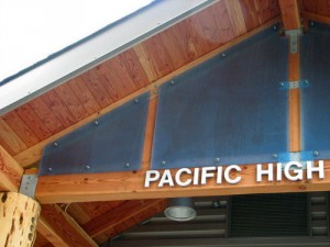 """The greatest iteration yet,"" is how Pacific High co-principal Phil Burdick describes the remodeled school, which has been an educational center for over a century. Photo by Emily Forman, KCAW - Sitka."