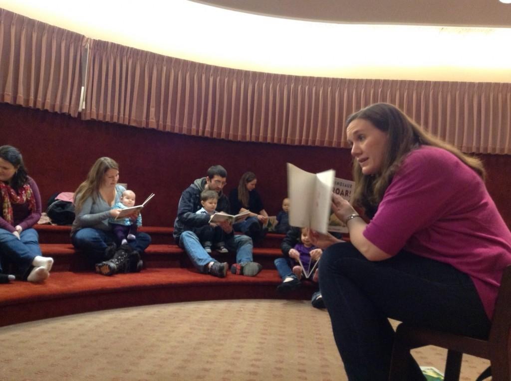 Youth Services Coordinator Elizabeth Nicolai.