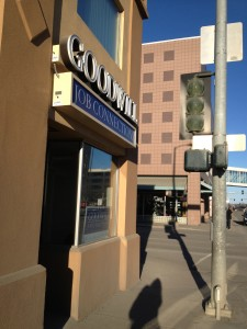 The Goodwill Job Connections Center is located at the corner of 6th & C streets in downtown Anchorage.