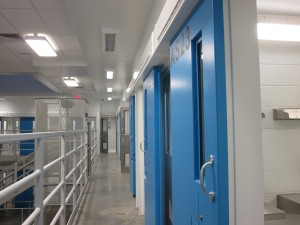 Goose Creek Prison. Photo by Ellen Lockyer, KSKA - Anchorage.