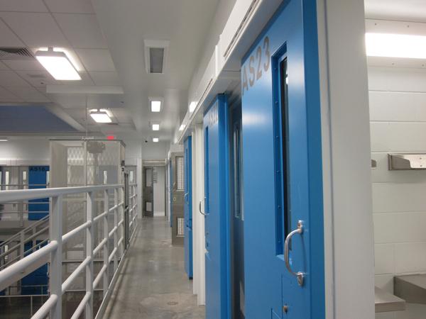 Goose Creek Prison. Photo by Ellen Lockyer, KSKA - Anchorage.