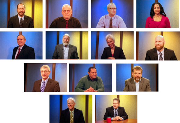 2014 Anchorage Assembly Candidates. Photo by Alaska Public Media.