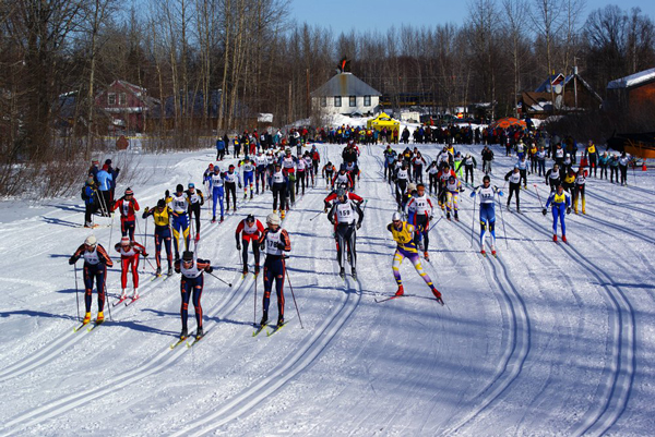 Photo from the Oosik Classic Ski Race Facebook page.