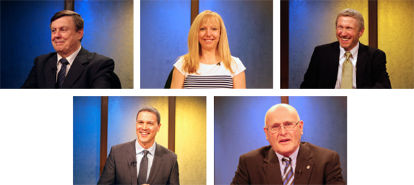 2014 Anchorage School Board Candidates. Photo by Alaska Public Media.