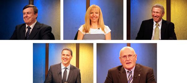 2014 Anchorage School Board Candidates. Photo by Alaska Public Media.