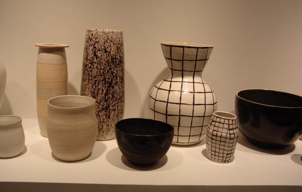 Shio Kusuka, Porcelain and Stoneware Pots (2013)