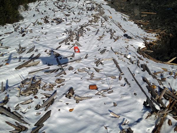 tsunami debris clean up is slowed by volume rugged
