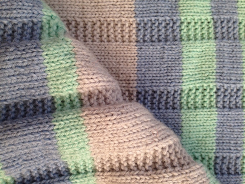 Knitting A Simple Striped Baby Blanket | Alaska Public Media