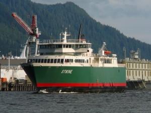 Ketchikan-POW Ferry Aids Seafood, Retail, Tourism