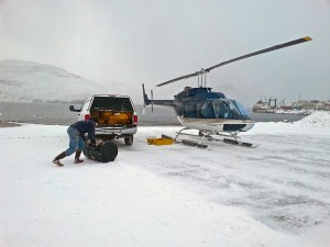Helicopter Improves Access To Akutan Airport, For Now