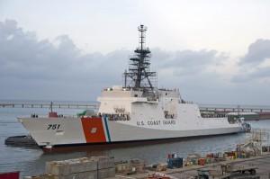 Cutter Waesche. (Photo courtesy U.S. Coast Guard)