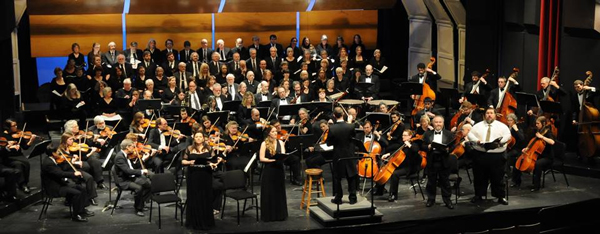 The Juneau Symphony and Juneau Symphony Chorus performed the Mozart Requiem, April 5 & 6, 2014. (Photo by Glen Fairchild)