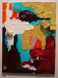 "The ""Ketchup and Mustard"" painting."