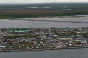 Photo of Kotzebue. (Photo by Neal Herbert/National Park Service, Alaska Region)