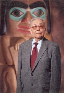 Walter Soboleff passed away in 2011 at the age of 102. (Sealaska Photo)