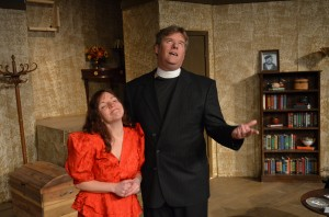 "Three blind...vicars? ""See How They Run"" is playing at VPA"