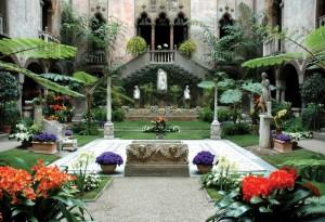 Gardner Museum Courtyard.